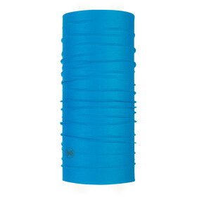 Buff Coolnet UV+ Neck Tube Solid Blue